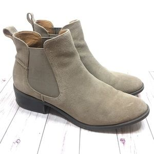 Steve Madden suede Chelsea ankle boots size 9